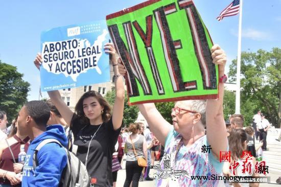 美国9个州通过反堕胎法案迪士尼称或撤_佐治亚州-路易斯安那州-最高法院-
