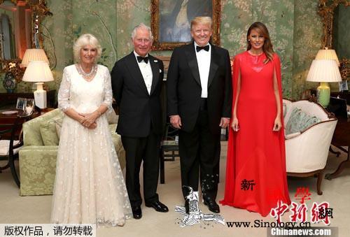 与女王碰杯、谈脱欧与贸易……特朗普访_伊丽莎白-英国-白金汉宫-