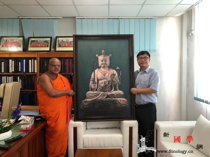 五台山普寿寺向斯里兰卡凯拉尼亚大学巴_斯里兰卡-佛教-佛学-研究院-