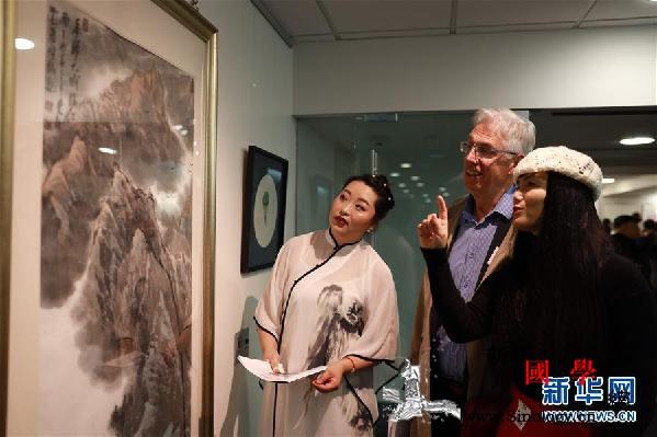新西兰国会中新艺术交流展开幕_惠灵顿-国会-艺术家-展览-
