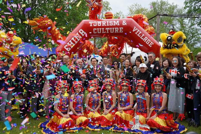"""加拿大""""中国旅游文化周""""在多伦多开幕_温哥华-加拿大-文化周-糖人-"""