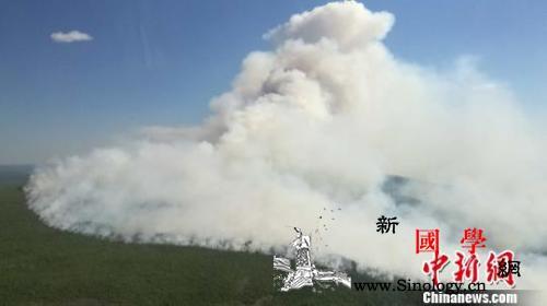 内蒙古大兴安岭18起火灾已扑灭17起_火场-管理局-蒙古-