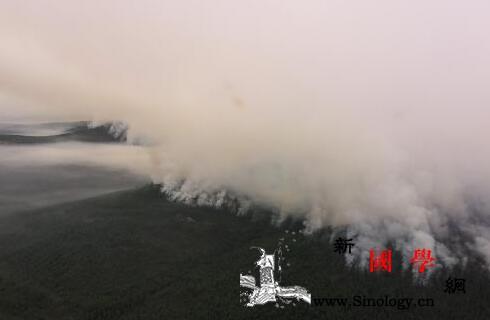 内蒙古大兴安岭金河火场除东南线外其它_火场-指挥部-明火-