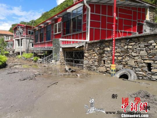 四川阿坝州泥石流地质灾害实现成功避险_卡拉-金川县-泥石流-