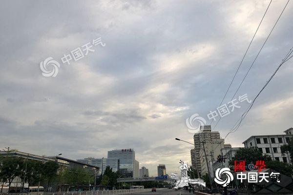 北京西部北部今有雷雨明起高温加码4日_明后天-雷阵雨-雷雨-