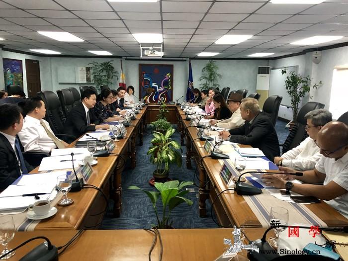 文化和旅游部副部长率团成功访问菲律宾_马里奥-菲律宾-文化-旅游-