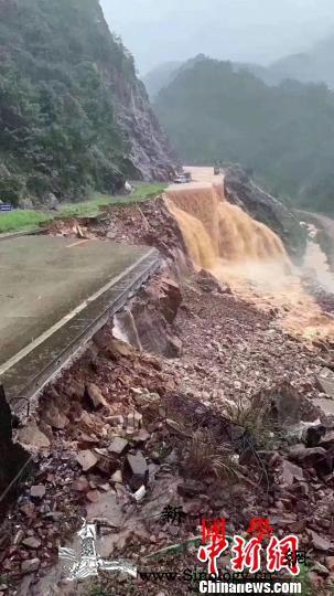 武夷山遭遇暴雨洪水暂停接待游客_武夷山-塌方-武夷山市-