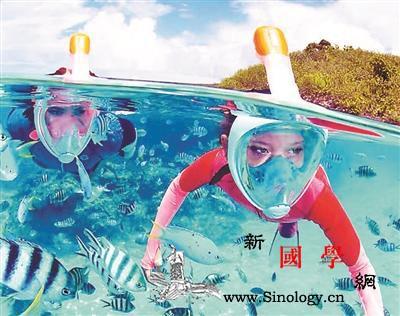 科技装备让你畅行海底:网红水上漂气垫_气垫-面罩-水下-