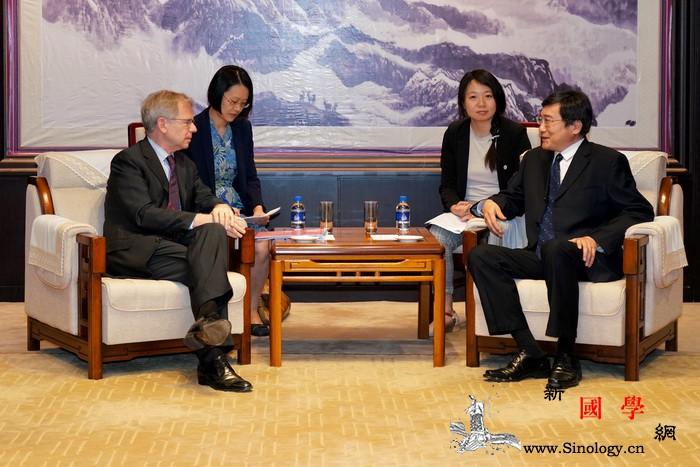新任瑞士驻华大使拜访文化和旅游部_瑞士-驻华-文化交流-合作-