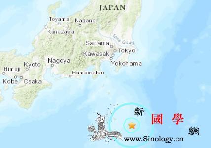 日本八丈岛东部海域发生5.7级地震东_震感-东京-日本-