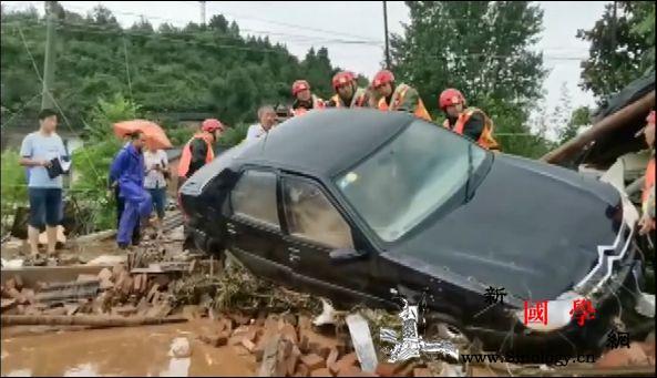 湖北十堰局地暴雨突发山洪导致8人遇难_郧西-降雨量-山洪-