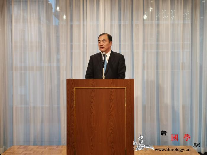 驻日本大使出席日中文化交流协会欢迎会_日中-出席-欢迎会-交流协会-