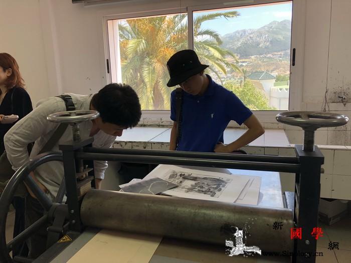 中国艺术家走进摩洛哥美术学院_阿卜杜拉-穆罕默德-摩洛哥-拉巴特-