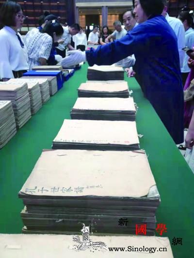 晒国宝晒经典传播古籍保护理念_国家图书馆-古籍-孔子-传统-