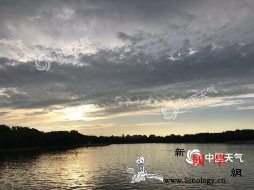 """北京晴热到周末明日雷雨""""见缝插针""""_云量-北京-气温-"""