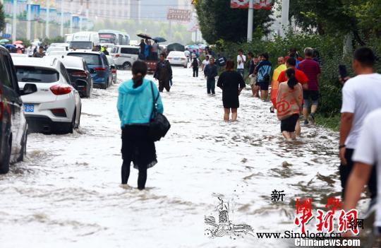 长春持续降雨双阳河现险情城区内涝近6_险情-积水-水库-