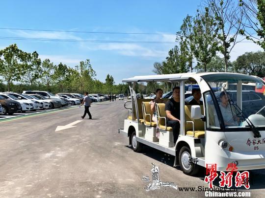 探访重新开张的乔家大院:首日迎客超8_祁县-景区-整改-