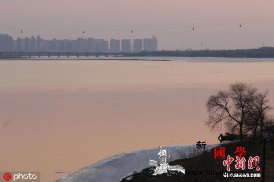 松花江发生2019年第1号洪水黑龙江_松花江-黑龙江省-防洪-