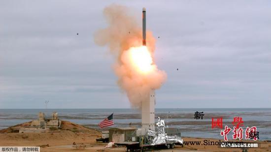 美国在加州试射一枚常规陆基巡航导弹_巡航导弹-试射-美国-