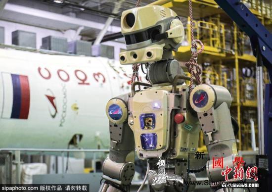 清灰、截导线……俄人形机器人在国际空_俄罗斯-空间站-机器人-
