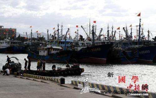 """今年第11号台风""""白鹿""""在福建东山沿_漳浦-泉州-白鹿-"""
