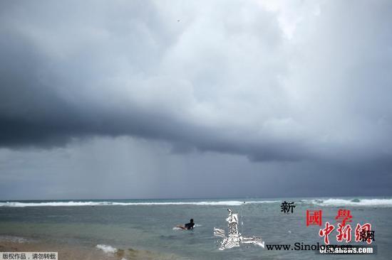 """飓风""""多里安""""预计以四级强度接近美国_波多黎各-佛罗里达州-美国-"""