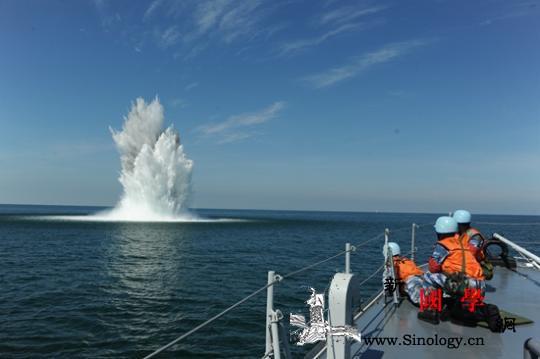 """雷海兵锋:中国猎扫雷舰有一支厉害的""""_扫雷舰-军士长-水雷-"""