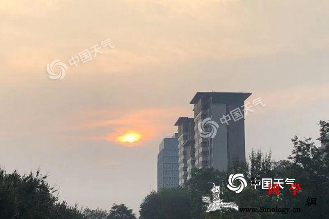 北京晴晒模式在线晴到多云持续至周末_降雨-北京-气温-