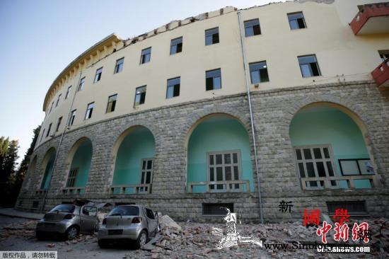 阿尔巴尼亚5.6级地震致数十人伤许多_阿尔巴尼亚-震中-受损-