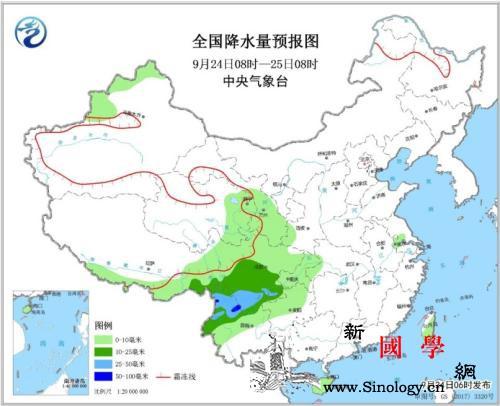 西南地区有雨雪天气云南西部等局地有大_等地-云南-中央气象台-