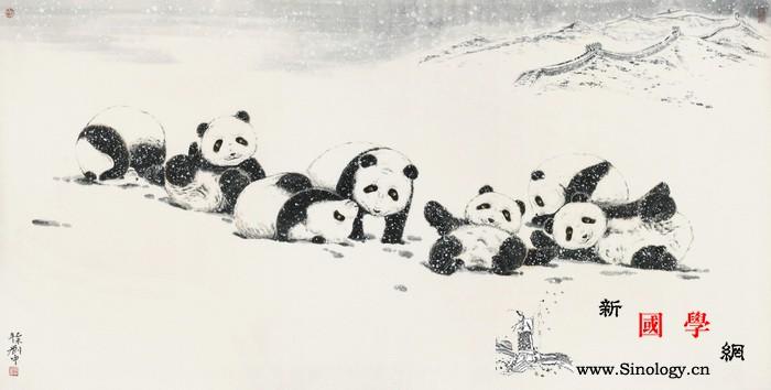 """""""熊猫刘中""""喜迎""""冬奥""""_平昌-熊猫-冬奥会-国宝-"""