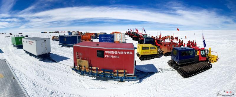 """聚焦中国极地科考35年:亲历""""冰山翻_南极洲-南极-冰盖-"""