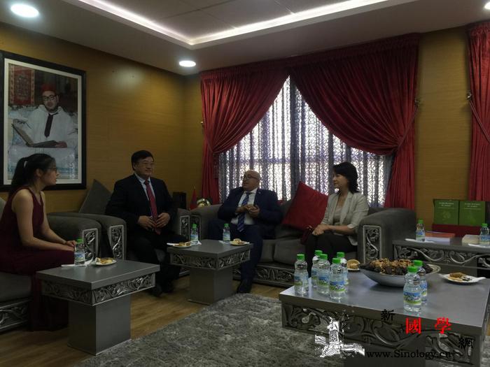 中国中医代表团访问摩洛哥_穆罕默德-摩洛哥-针灸-代表团-