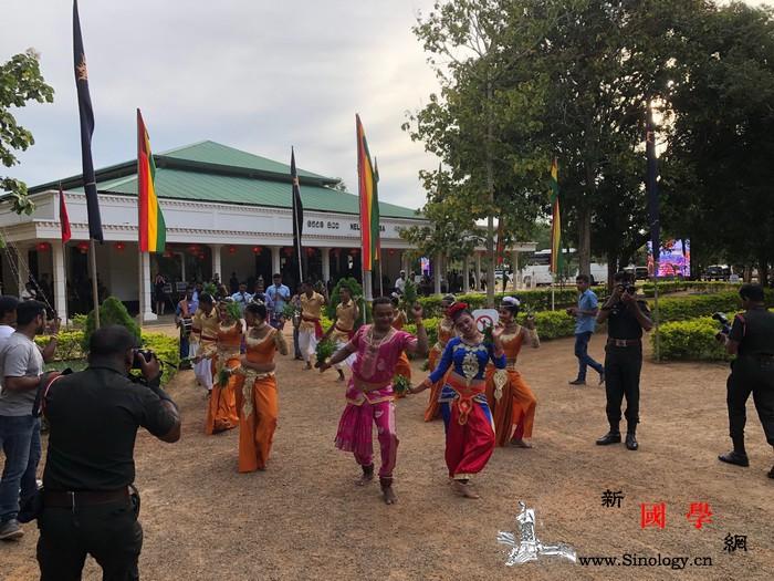 荆楚文化走进斯里兰卡军营_斯里兰卡-面塑-湖北-场外-