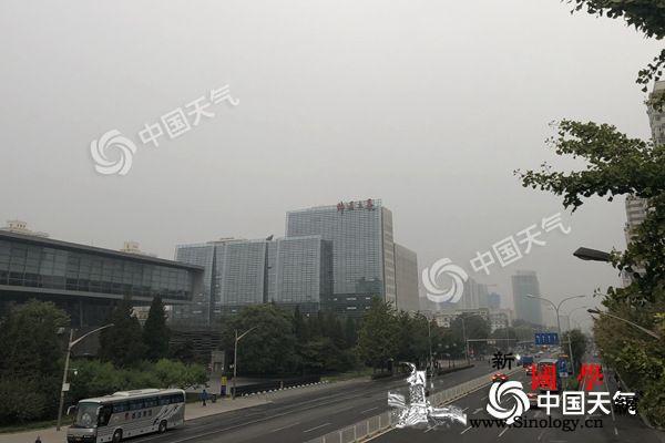 北京气温下降山区有零星小雨周日夜间最_北京-夜间-气温-