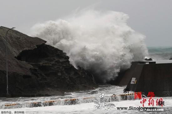 """台风""""海贝思""""逼近日本强风吹垮民房致_强台风-海贝-日本-"""