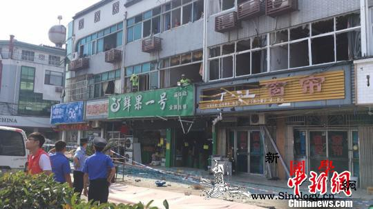 无锡一小吃店发生燃气爆炸:8人受伤送_无锡-送往-燃气-
