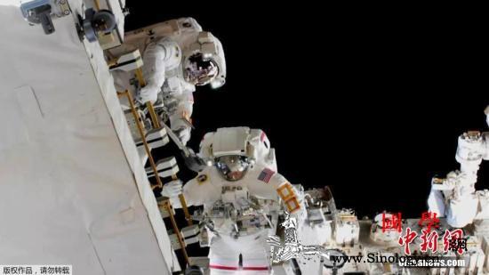 """史上首次!航天服备好""""全女性太空行_首次-宇航员-空间站-"""