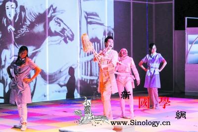 香港沙画戏剧《沙兵马将》巡演助力大湾_兵马-香港-巡演-剧院-