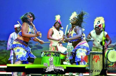 几内亚非洲舞蹈团北京上演《塔姆塔姆巴_几内亚-非洲-舞蹈-演出-
