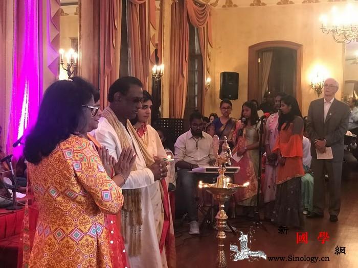毛里求斯中国文化中心受邀参加总统府排_毛里求斯-灯节-总统府-印度教-