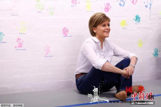 """英国脱欧僵局未解苏格兰""""脱英""""近在咫_苏格兰-英国-斯特-"""