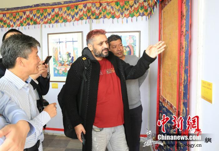 中国—尼泊尔唐卡绘画技艺及作品展在加_加德满都-尼泊尔-卡尔-