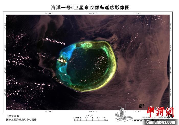 """中国""""海洋一号C""""卫星生成精美图像宛_遥感-宛如-撒哈拉-"""