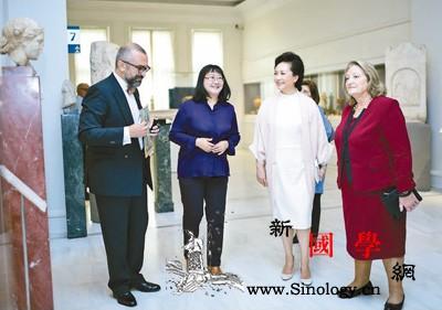 彭丽媛参观希腊贝纳基博物馆_古希腊-雅典-希腊-市中心-