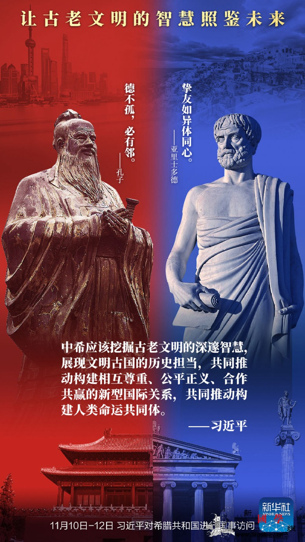 创意海报丨让古老文明的智慧照鉴未来_监制-出品-实习-