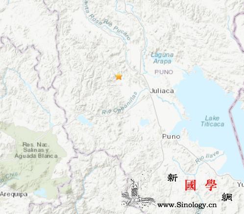 秘鲁西部地区发生5.1级地震震源深2_震源-画中画-美国-