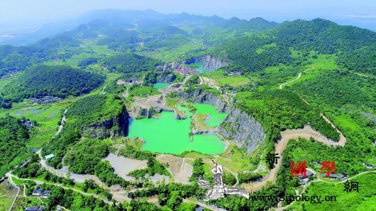 生态修复也要遵循自然规律废弃矿坑变身_渝北区-矿坑-铜锣-