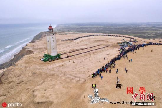 丹麦这座百年灯塔开放了!曾因海岸侵蚀_灯塔-丹麦-流沙- ()