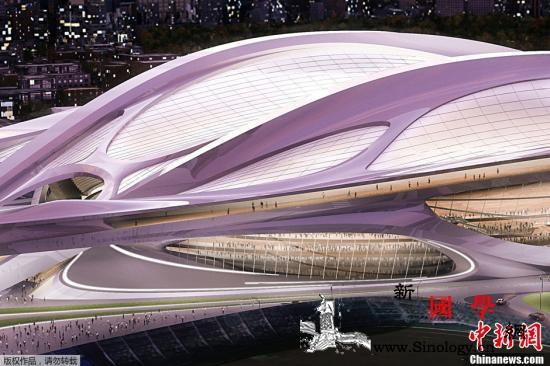 东京奥运会主体育场工程结束总花费约1_亿元-东京-竞技场-